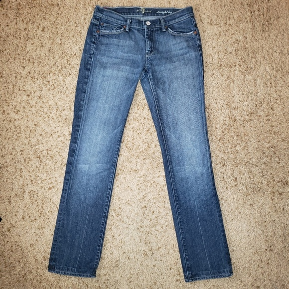 7 For All Mankind Denim - 7 For All Mankind Straight Leg Women's Jeans EUC